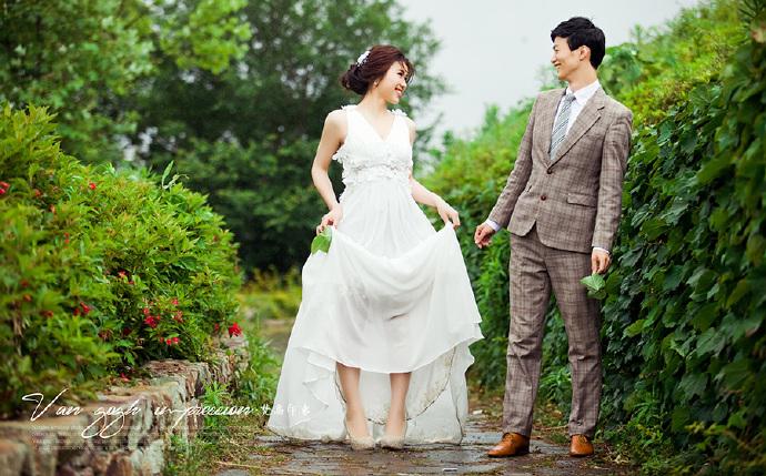 记录幸福的瞬间 新郞拍婚纱照的注意事项