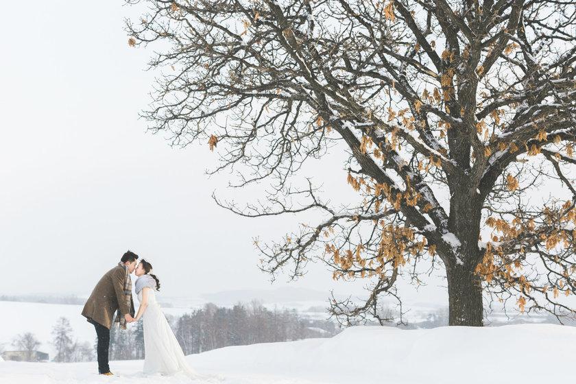 冬季婚纱照拍摄景点推荐 冬季婚纱照去哪里拍