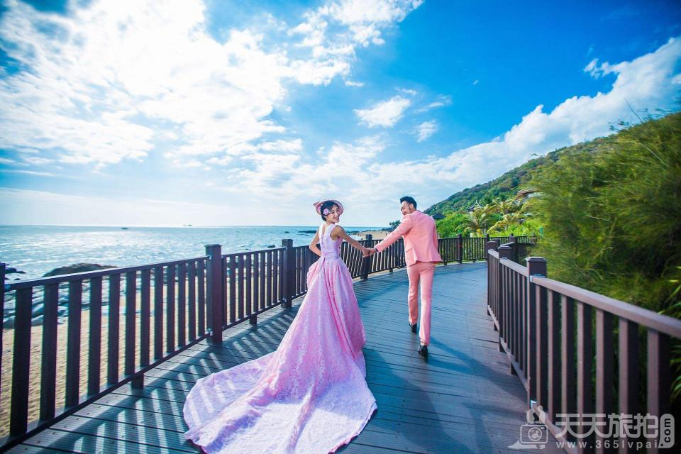 海边拍婚纱照的姿势 海边拍婚纱照什么姿势好看