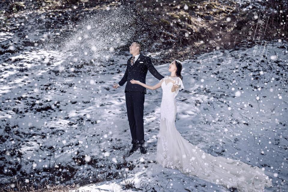 雪景婚纱照拍摄需注意的相关事项介绍