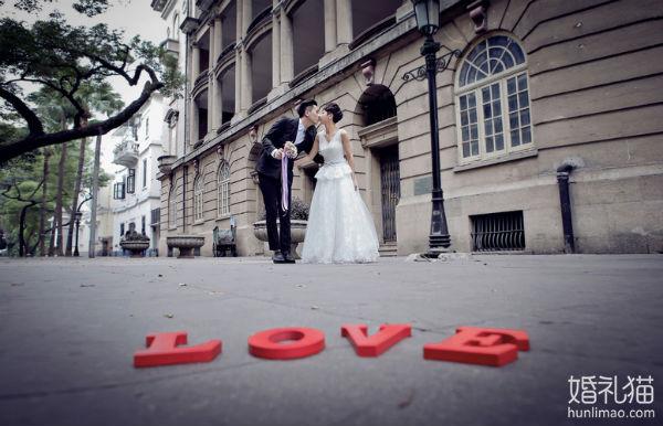 广州沙面婚纱摄影