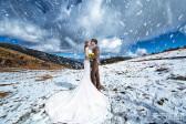 冬季外景婚纱景点推荐 冬季外景拍婚纱哪里好